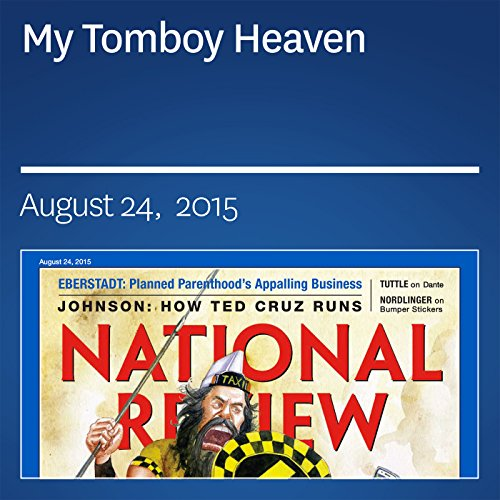 My Tomboy Heaven audiobook cover art