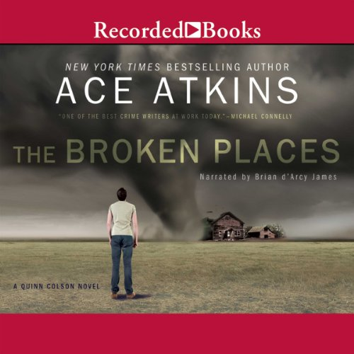 The Broken Places audiobook cover art