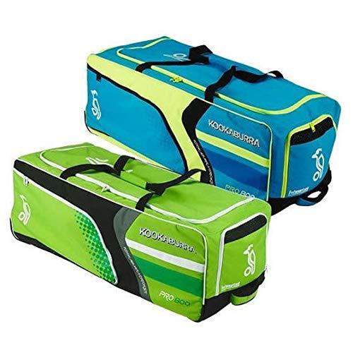 Whitedot Sports Kookaburra PRO 800 Wheelie Cricket KIT Bag-(Blue/Yellow/Black)