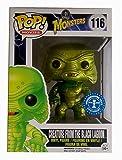 Funko - Figurine Classic Monsters - Creature from The Black Lagoon Metallic Version Exclu Pop 10cm - 0849803047733