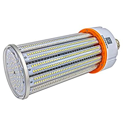 LED Corn Light Bulb, E26 or E39 Base, Replacement for Metal Halide, Waterproof, Outdoor/Indoor
