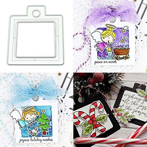 Tarjetero de metal troquelado, troqueles de corte para manualidades, álbumes de fotos, álbum de fotos, troqueles decorativos de papel para hacer tarjetas