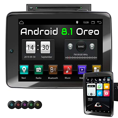 XOMAX XM-2DA1092 autoradio met Android 8.1, Octa Core, 4GB RAM, 32GB ROM, GPS Navigation I Support: WiFi WLAN, 3G 4G, DAB+, OBD2 I Bluetooth, 10,9 inch / 27,7 cm IPS XXL Touchscreen, DVD, CD, USB, SD, AUX, 2 DIN