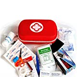 Small-Waterproof Car First-Aid Kit Emergency-Kit - Camping Safety Survival Equipment for Camping Hiking Home Travel