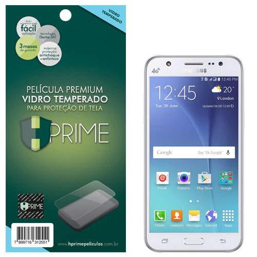 Pelicula de Vidro temperado 9h HPrime para Samsung Galaxy J5, Hprime, Película Protetora de Tela para Celular, Transparente