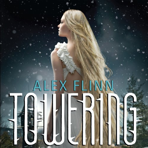 Towering audiobook cover art