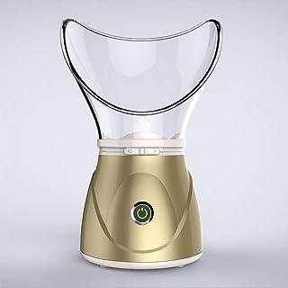 Facial Steamer Sinus Steam Inhaler Mist Moisturizer Nano Steamer Sprayer Face Nose Skin Humidifier Firms Skin and Removes Blackheads