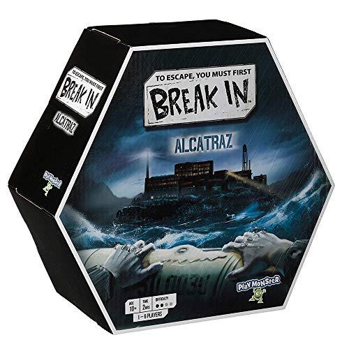 Playmonster Break In: Alcatraz Board Game