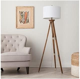 Oak Wood Tripod Floor Lamp (Includes CFL Bulb) - ThresholdTM