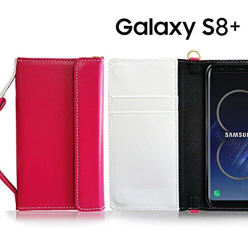 Galaxy S8+ ケース Galaxy S8 Plus ケース 本革 手帳型 ギャラクシーs8+ カバー ギャラクシーs8プラス カバー スマホポーチ ブランド レザー 手帳ケース 人気 CHARON ネイビー Samsung サムスン simフリー