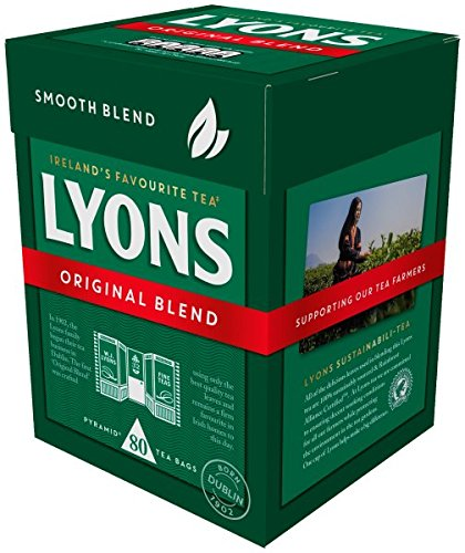 Original Blend Lyons Tea (80 Teabags)