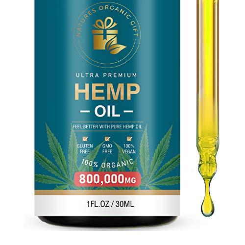 Hemp Drops Hemp Seed Oil 80000 Milligrams Natural Hemp Massage Oil