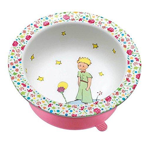 Petit Jour Paris Der kleine Prinz Schale rosa mit Saugboden aus Melamin