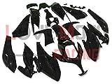 LoveMoto Carenados para TMAX500 2008 2009 2010 2011 2012 TMAX 500 Kit de carenado de Material plástico ABS Moldeado por inyección para Moto Negro