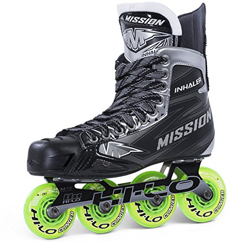 Mission Inhaler NLS4 Roller Hockey Skates Sr, Größe:11 = 47;Weite :E = Regular