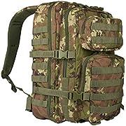 Mil-Tec Us Assault Pack_sml - Mochila unisex, Unisex adulto, 14002242_SML, Vegetato Woodland, large