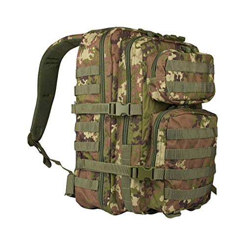 Mil-Tec Us Assault Pack_sml - Mochila unisex, Unisex adulto, 14002242_SML, Vegetato Woodland, large