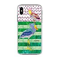 iPhoneSE 第2世代 ケース iPhone7 / iPhone8 スマホケース かわいい 動物 カバー ハードケース iPhone 8 iphone 7 アイフォン 7/8 SE2 アイフォンケース どうぶつ アニマル 人気 スマホカバー ハシビロコウ 大きいくちばし COMO コモ デザイン pc0020