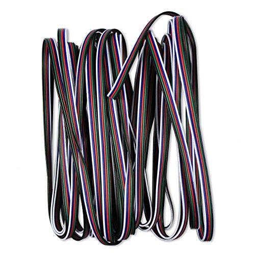 ESUMIC® LED Streifen-Licht RGB-Verlängerungskabel (RGBW 20M)