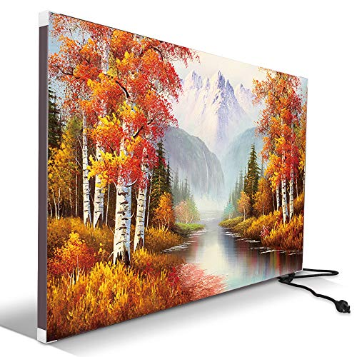 Electric Wall Mounted Space Flat Panel heater