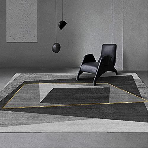 Mobiliario para El Hogar Estilo Nórdico De Lujo Mesa De Centro Alfombra Sala De Estar Alfombra Manta De Noche 120x180cm