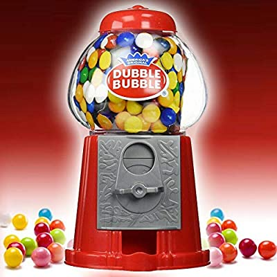 mini gumball dispenser machine toy with bubble gum party bag coin operated - red Mini Gumball Dispenser Machine Toy With Bubble Gum Party Bag Coin Operated – Red 519LRVqUy7L