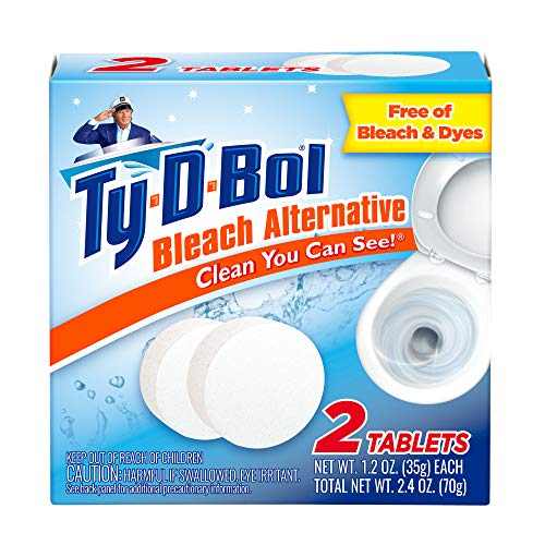 Ty-D-Bol Bleach Alternative 2 count (Pack of 1)