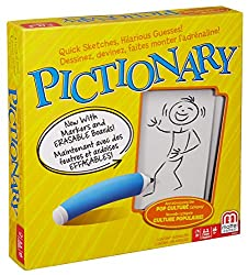 Pictionary-- one of the best board games to play over Zoom