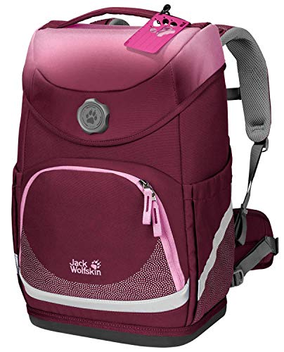 Jack Wolfskin Kinder Grow Up School Rucksack, Rhododendron, ONE Size