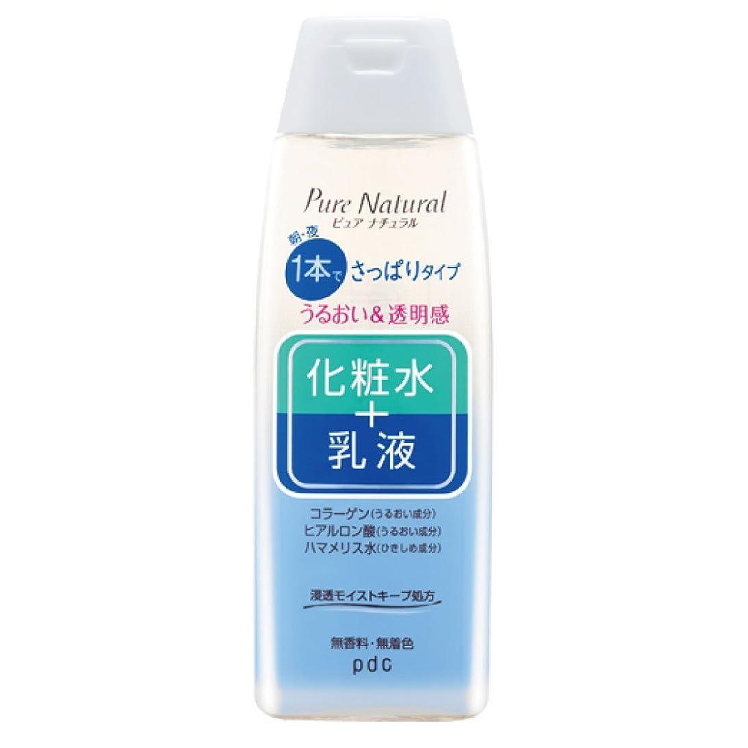 気がついて保険男Pure NATURAL(ピュアナチュラル) エッセンスローションライト 210ml
