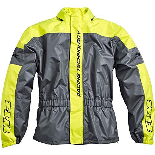 FLM Regenjacke, Regenschutz, Fahrrad Regenbekleidung Sports Reflektor Regenjacke 1.0 gelb XL, Unisex, Multipurpose, Ganzjährig, Textil