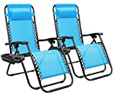 Homall Zero Gravity Chair Adjustable Folding Lawn Lounge Chairs...