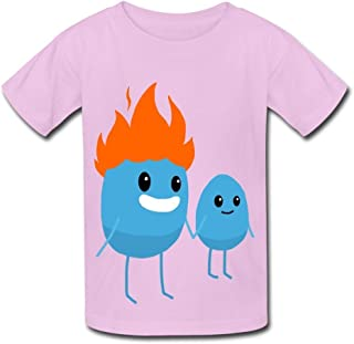 Kid's Dumb Ways to Die Father and Son Round Collar T Shirt