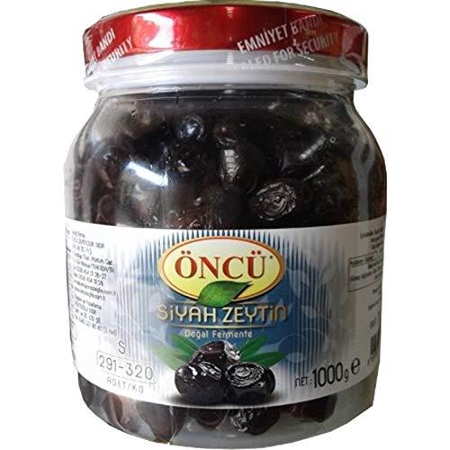 Oncu Natural Black Olives Zeytin Dogal Fermante Türkisch - 1000gr