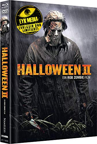 Halloween II (Rob Zombie) - Limited Mediabook - Cover A [Blu-ray+DVD]