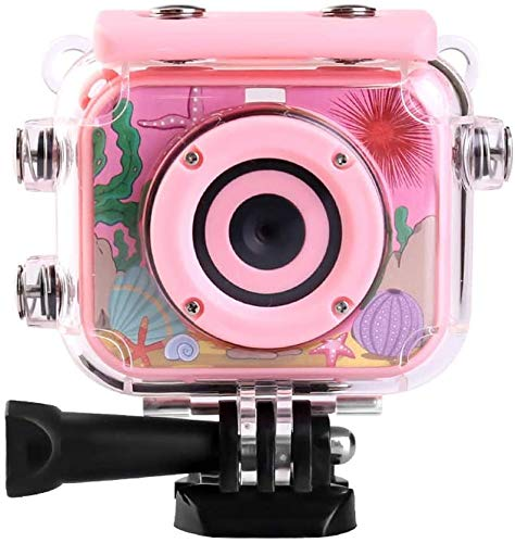 Action-Kamera Durable 1080P wasserdichter Anti Fall der Kinder Sport Vlog DV-Kamera Live-HD-Streaming (Farbe: Blau, Größe: Eine Größe) zhihao (Color : Pink, Size : One Size)