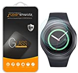 Supershieldz (3 Pack) for Samsung Gear S2 and Gear S2 Classic Tempered Glass Screen Protector, Anti Scratch, Bubble Free