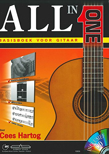 Cees Hartog-All in One-Gitarre-BOOK+CD