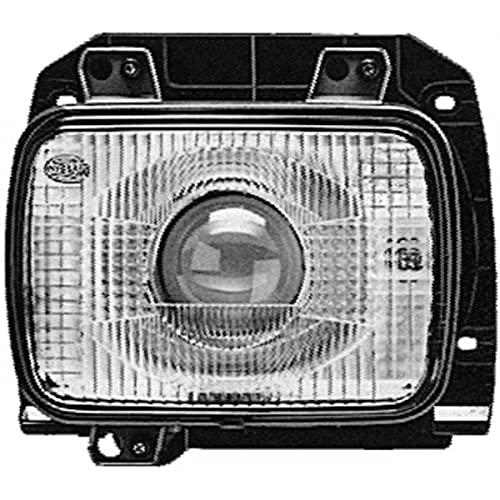 HELLA 1BL 005 740-091 DE/Halogen-Scheinwerfereinsatz, Hauptscheinwerfer - 12/24V - Einbau - gehärtete Streuscheibe - links