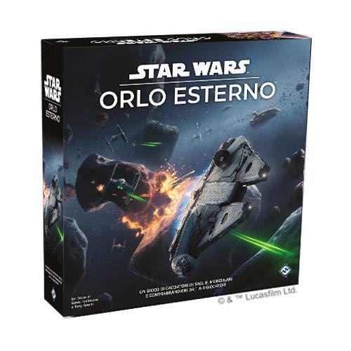 Asmodee- Star Wars: Orlo Esterno Gioco da Tavolo, Colore, 9095