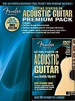 HL-Hal Lenard Fender フェンダー アコースティックギター Starter Pk CD Or DVD アコースティックギター アコギ ギター (並行輸入)