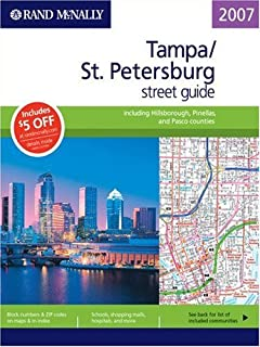 Rand McNally 2007 Tampa/St. Petersburg street guide, including Hillsborough, Pinellas, and Pasco Counties
