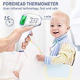 Immagine 2 termometro febbre infrarossi frontale digitale
