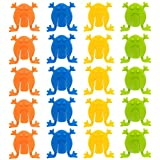 Juego de 48 Ranas Saltarinas en varios colores - Un gran entretenimiento para niños y bebés pequeños.