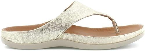 Strive Footwear Maui_schwarz, Damen Zehentrenner, Gold - metallic-Goldfarben - Größe  39 EU