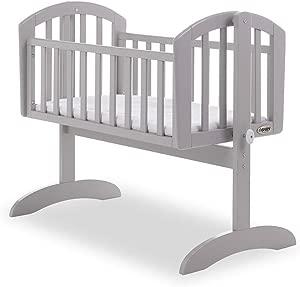 Obaby Sophie Swinging Crib  Warm Grey  85x43cm Mattress Included