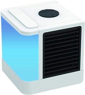 SDFSDF Mini Air Cooler Air Personal Space Cooler La Forma rápida y fácil de Enfriar Cualquier Espacio Aire Acondicionado Ventilador de enfriamiento de Aire para Sala de Oficina