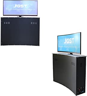 Sponsored Ad – JG34-QS Curved Screen TV Lifter Conference Hidden LCD Monitor Lift Electric Table Lift Suitable for Video C...