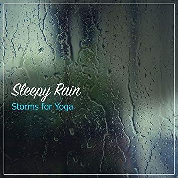 12 Sleepy Rain Storms for Practicing Yoga