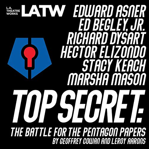 Top Secret Audiobook By Geoffrey Cowan, Leroy Aarons cover art